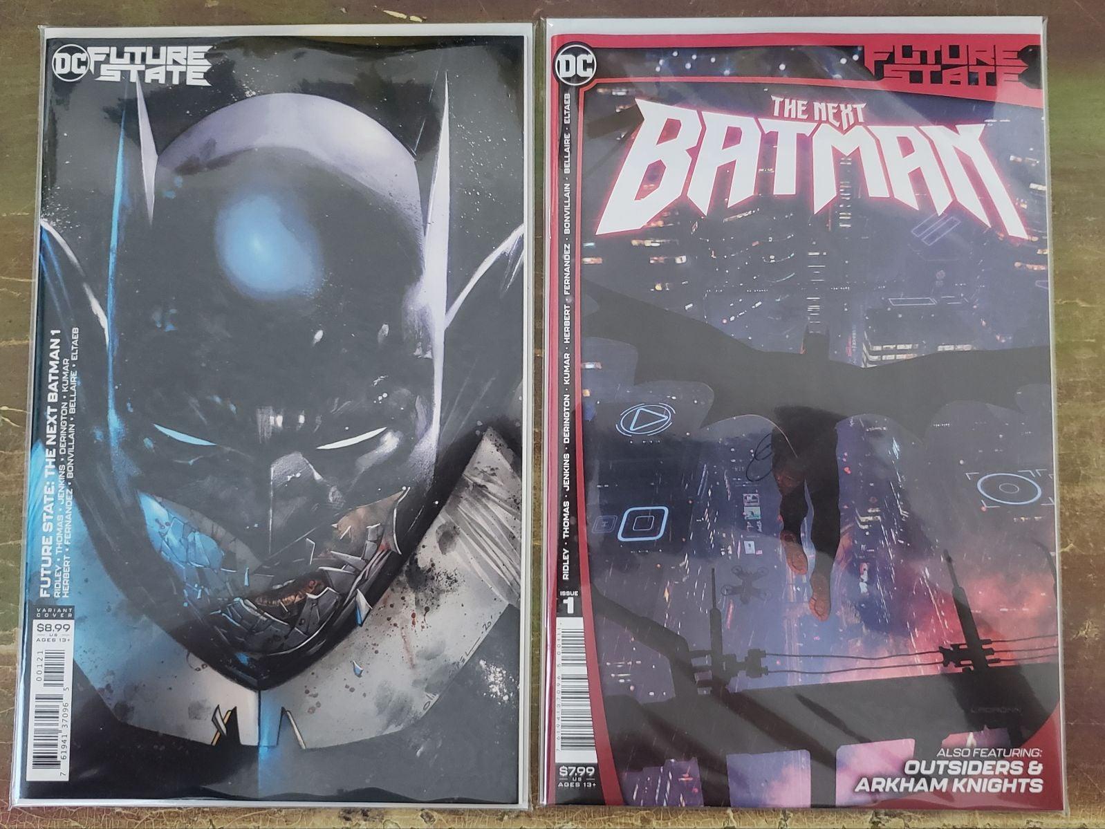 Future State: The Next Batman #1 A&B