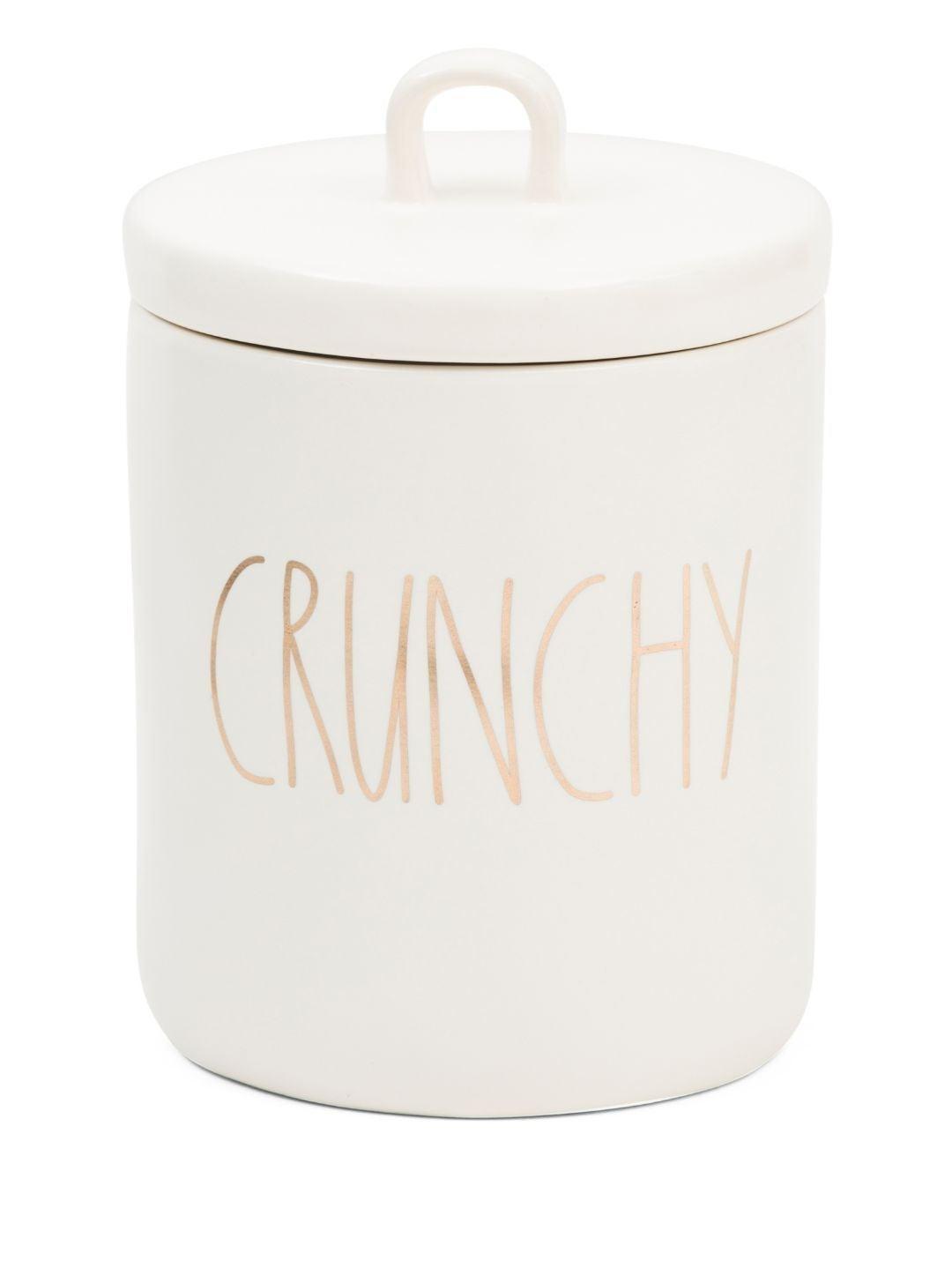 Rae Dunn Canister (Crunchy)