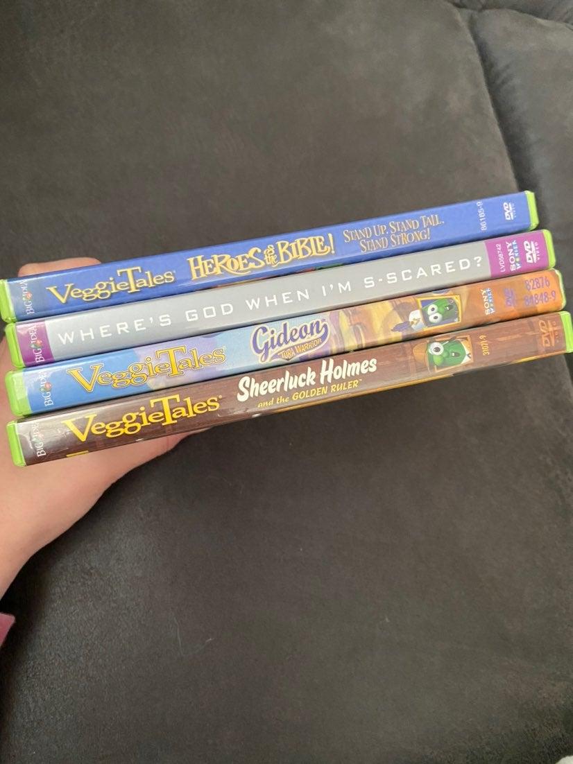 Veggie Tales Lot of DVD
