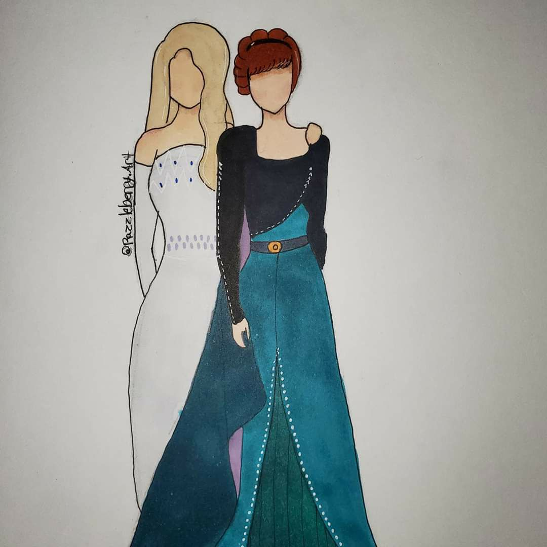 Frozen 2 Elsa and Anna