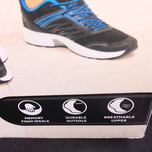 Crane men's memory foam athletic shoe sz