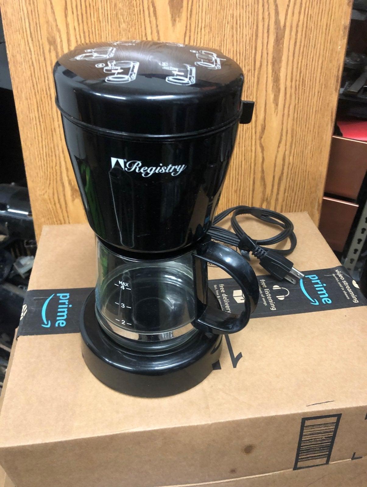 Registry - Coffee Maker. -eletronic