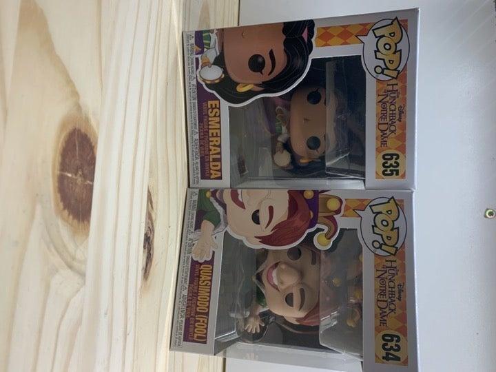 Funko Pop Quasimodo #634 Esmeralda #635
