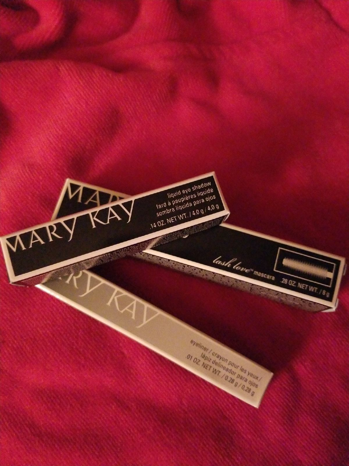 Mary Kay 3 eye products