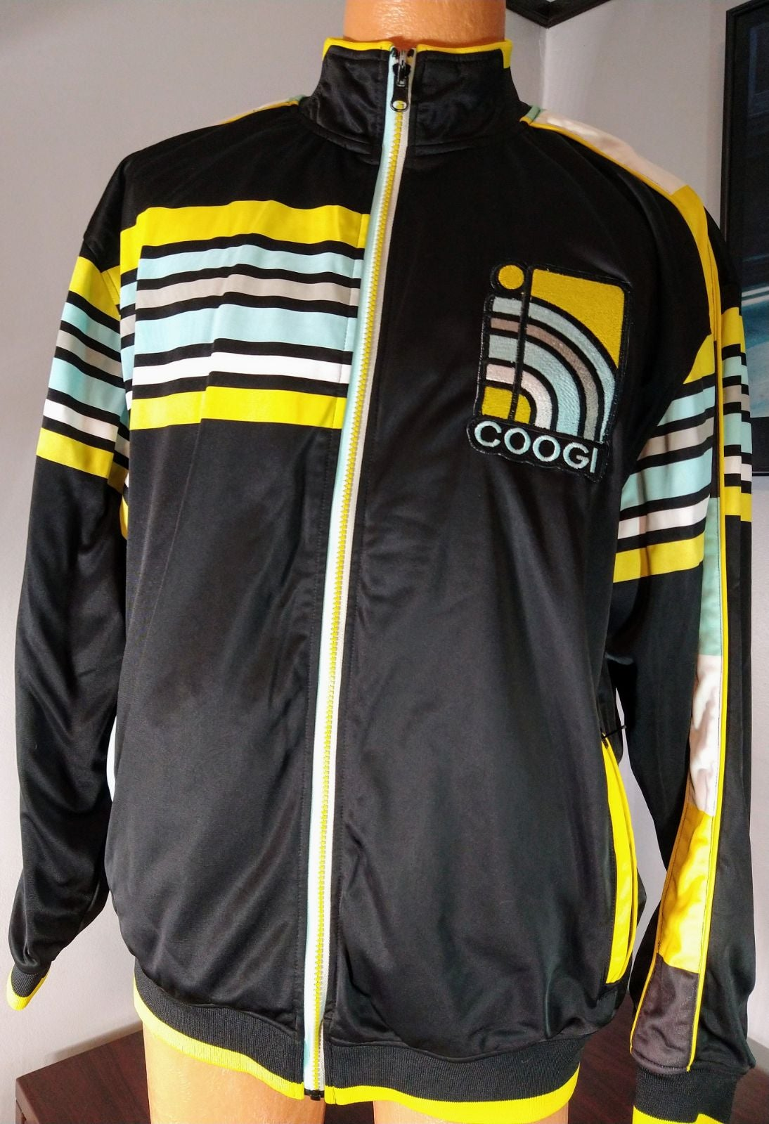 Vintage Coogi Zip-up Jacket sz XXL