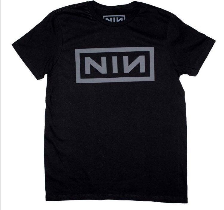 Nine Inch Nails Grey NIN Logo T-Shirt