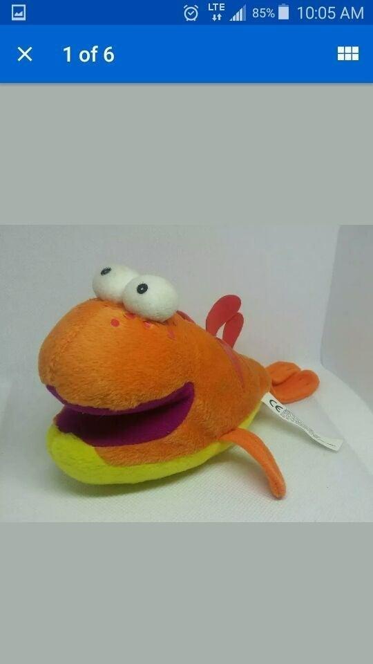 Fidgety fish Plush doll