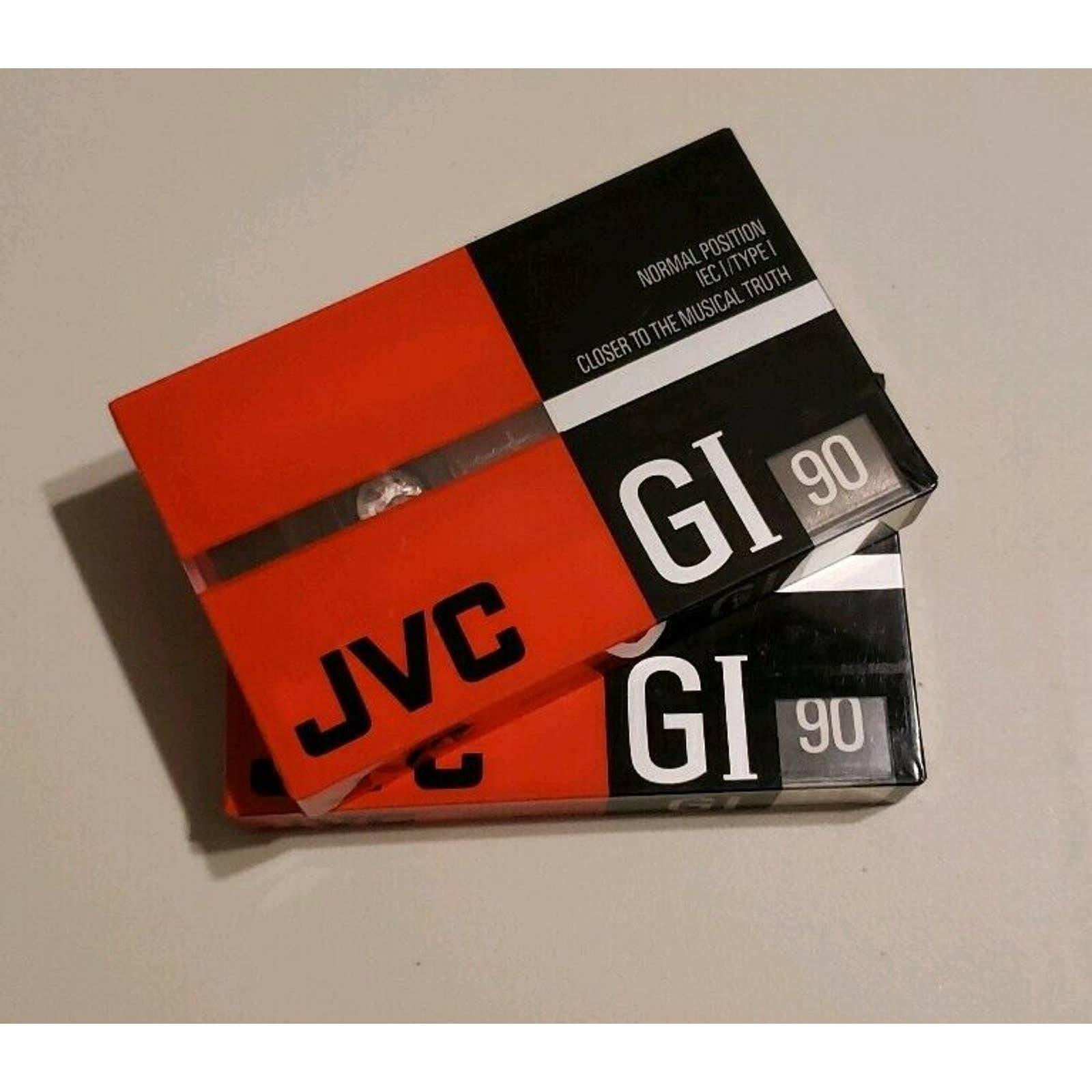 JVC GI90 Blank Cassette Tapes New Sealed