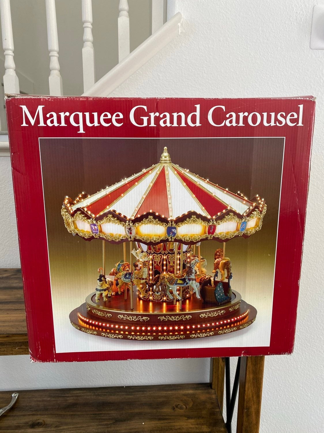 Mr. Christmas Marquee Grand Carousel