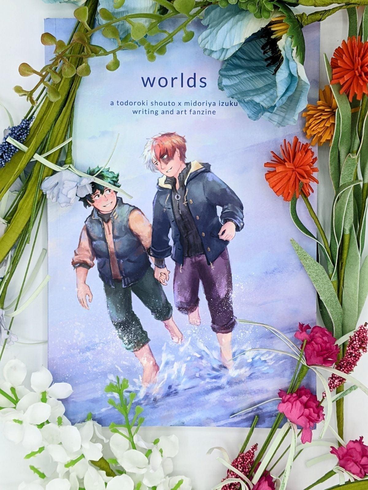 worlds - TodoDeku (BNHA) Fan Zine