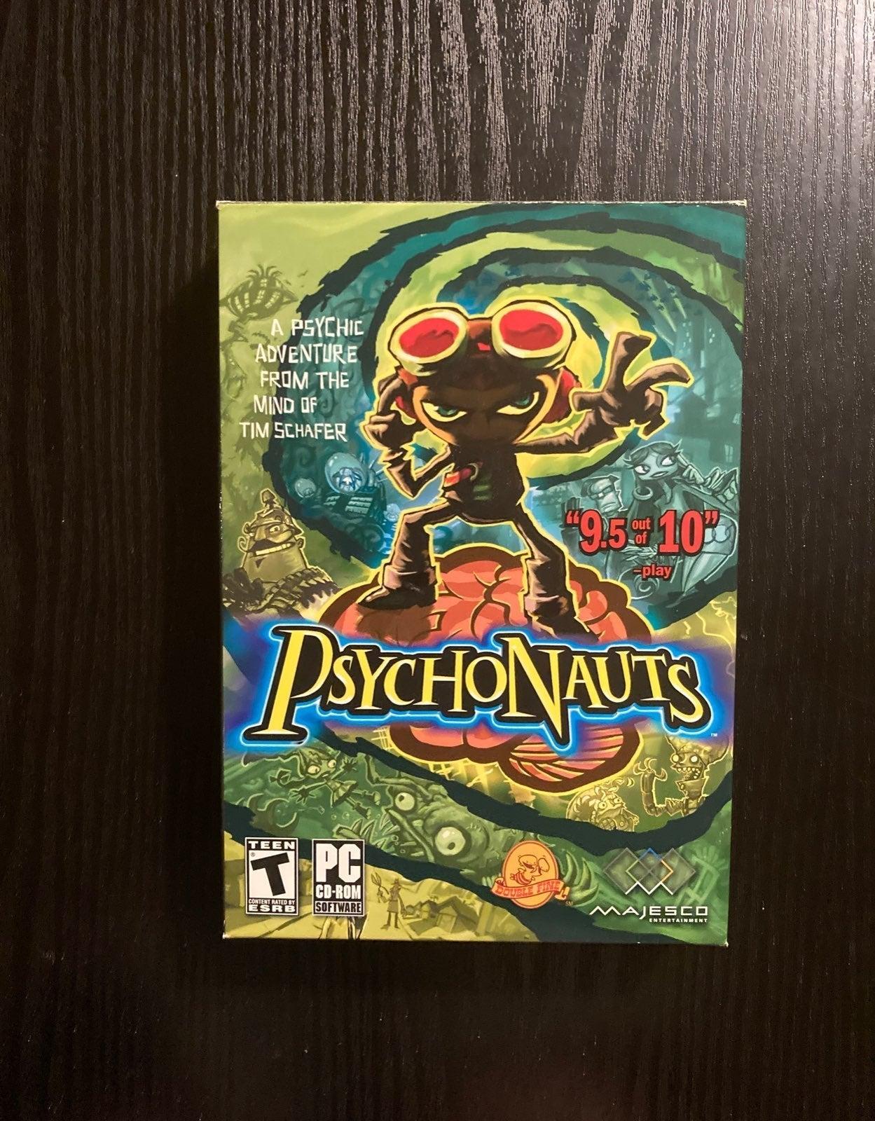 PC Game Psychonauts (2005) CIB VG