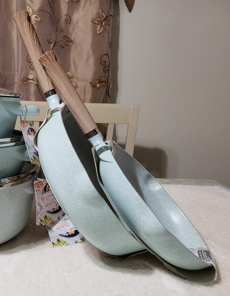 Masterclass Aqua / Light BLUE Cookware