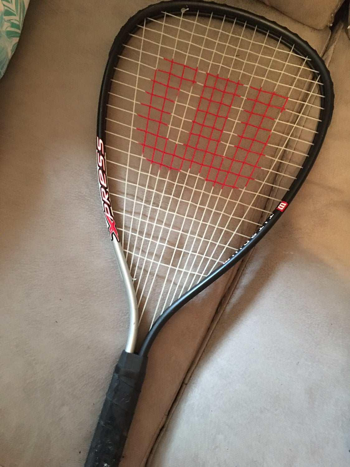 Racket Ball and Case