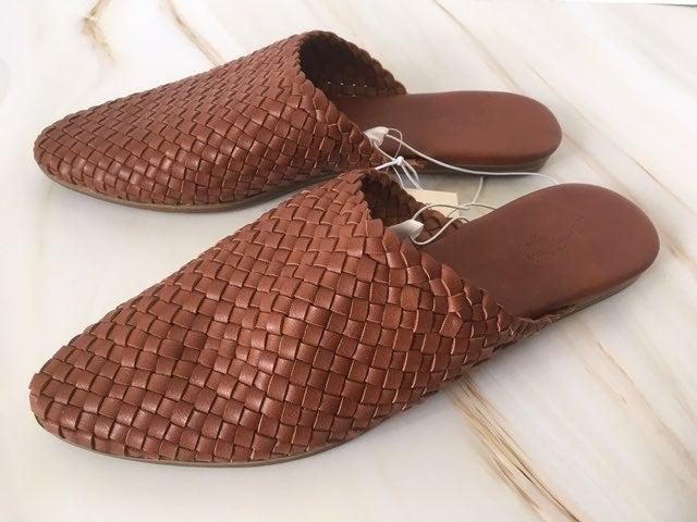 Woven Flats, Size 7 1/2