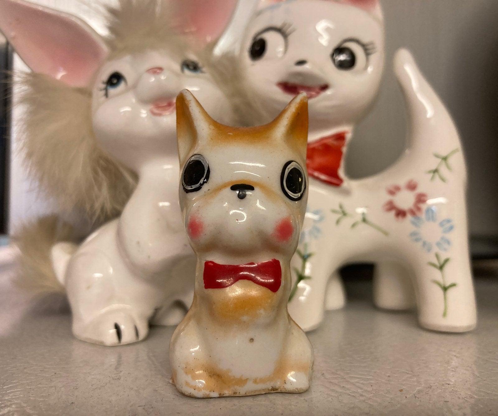 THREE Vintage Porcelain FriendS