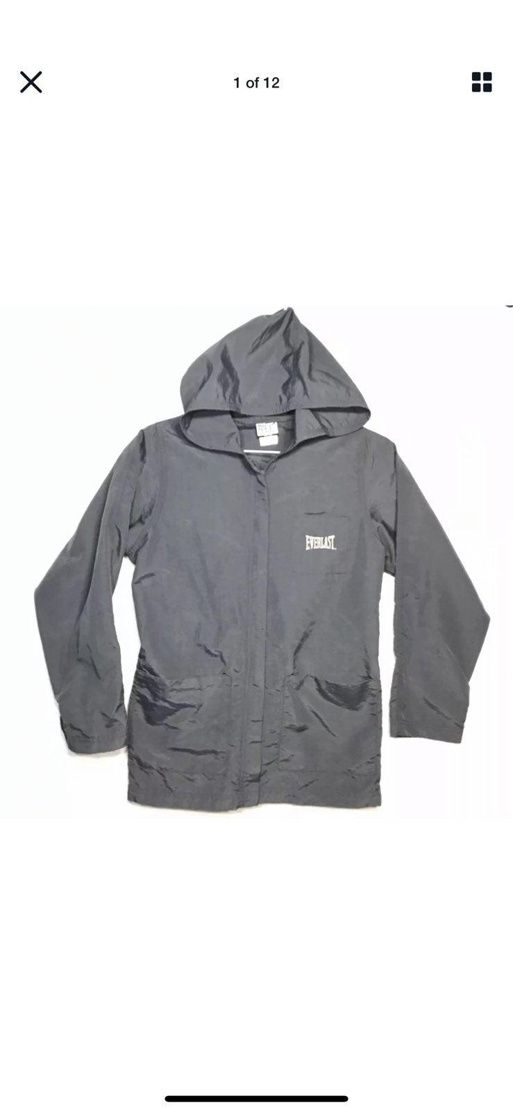 Everlast Black Medium Lightweight Jacket