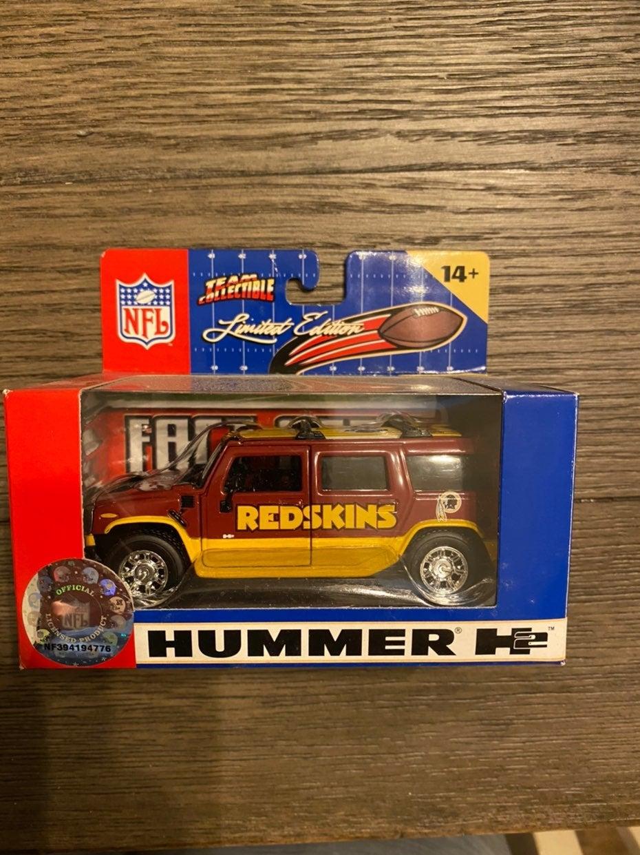 FLEER DIECAST NFL H2 Hummer Washington F
