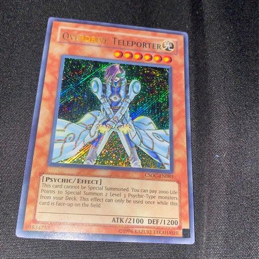 Overdrive Teleporter Yugioh Card
