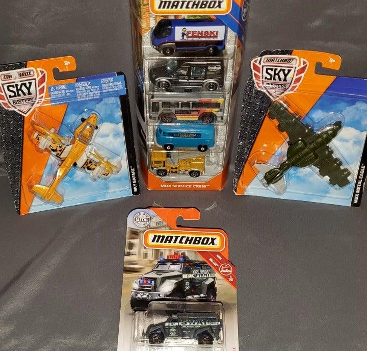 Matchbox Cars, Trucks, Vans, & Airplanes