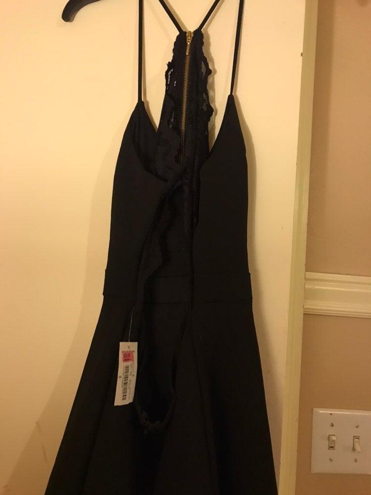 Fun, flirty little black dress!