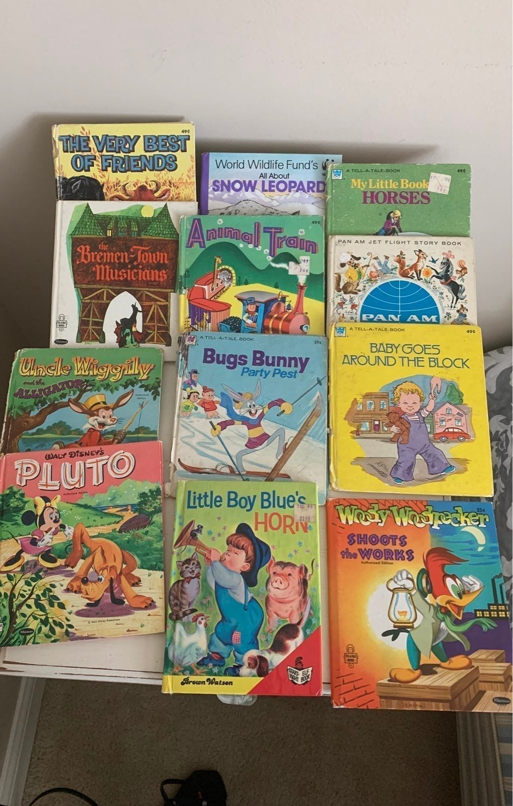12 Tell A Tale Vintage Book Lot