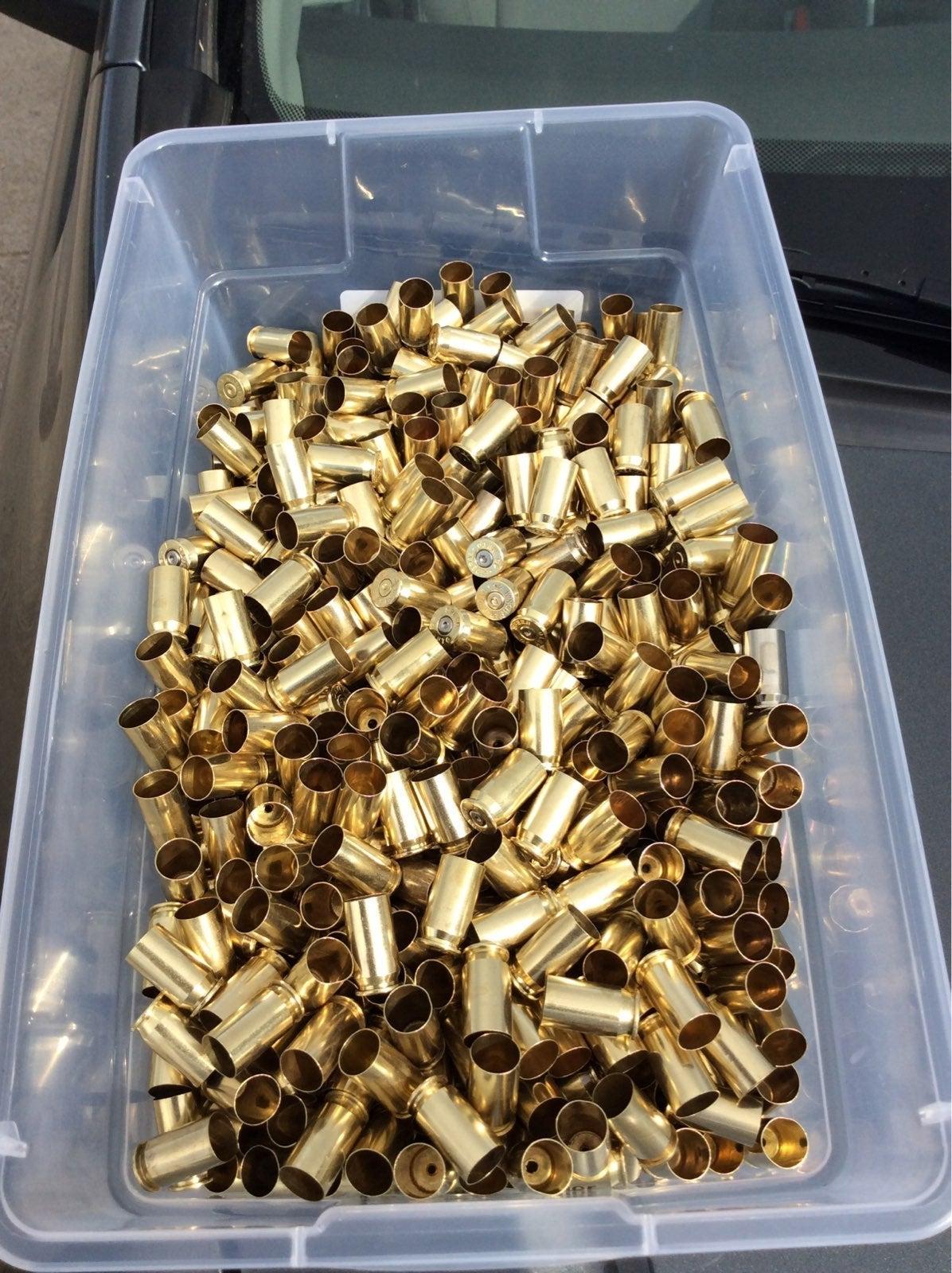 1000 pieces 40 S&W Brass cases
