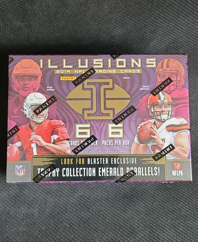2019 Illusions football blaster box