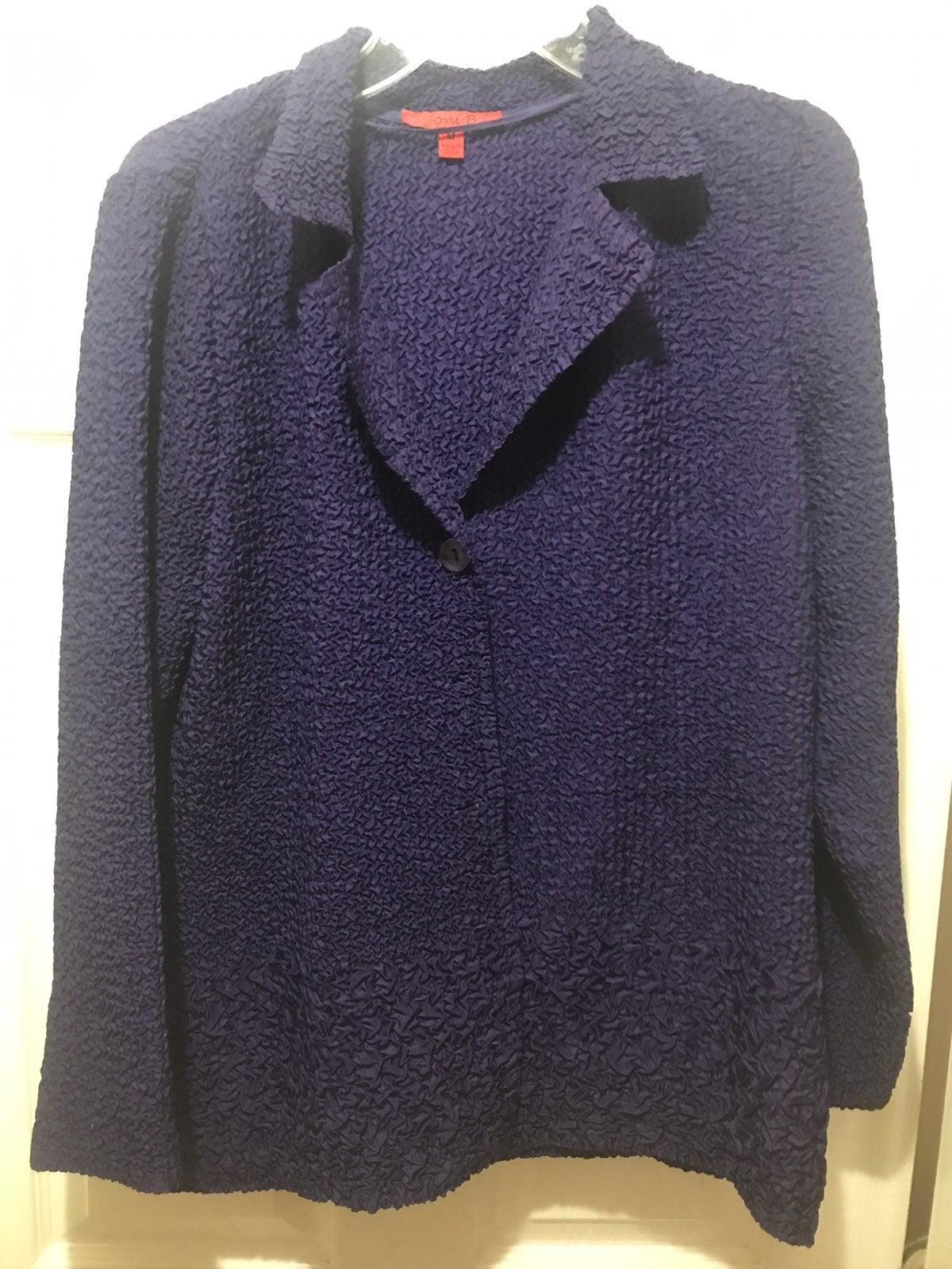 Purple jacket SZ M