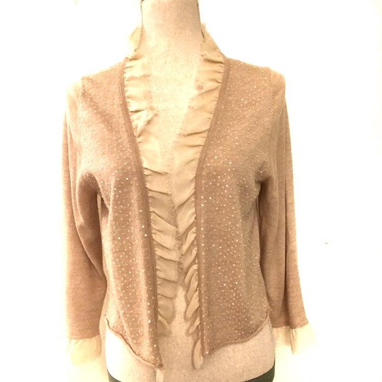 Remain Sweater Cardigan Caramel Color L