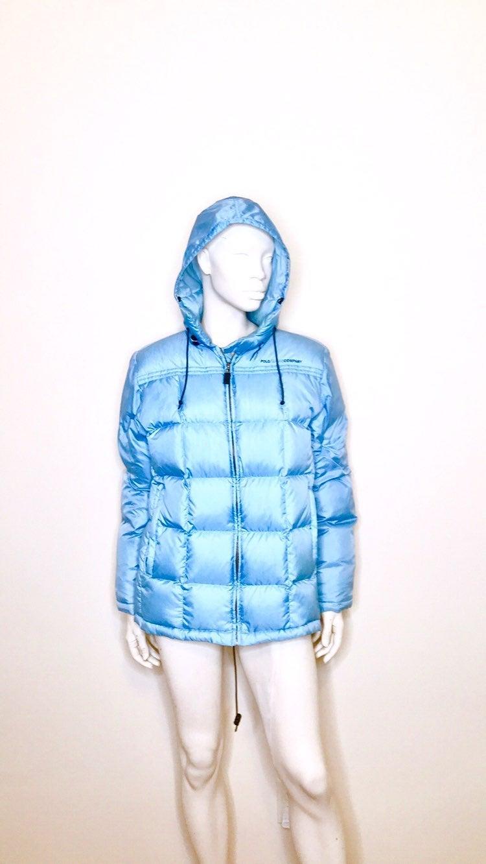 Polo Ralph Lauren Y2k Blue Puffer Jacket