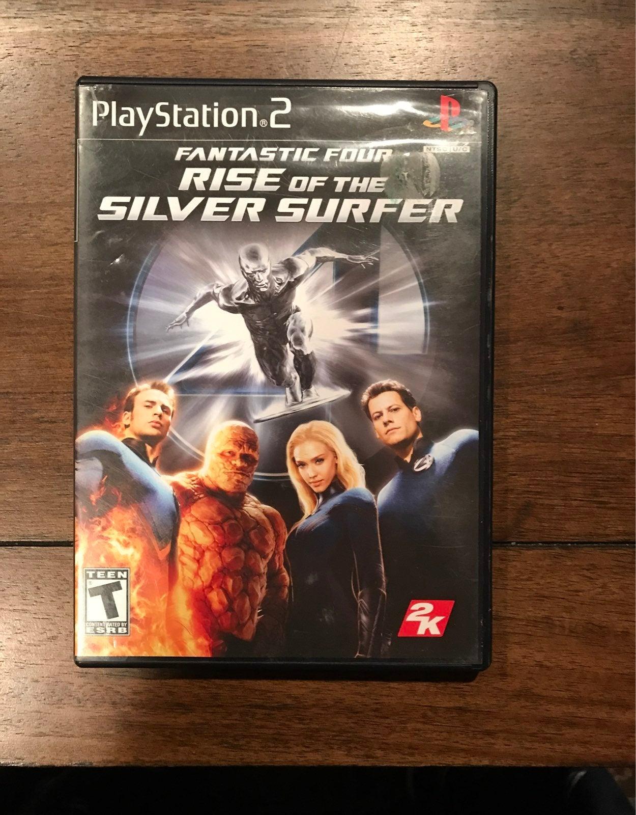 ps2 Fantastic Four: Silver Surfer