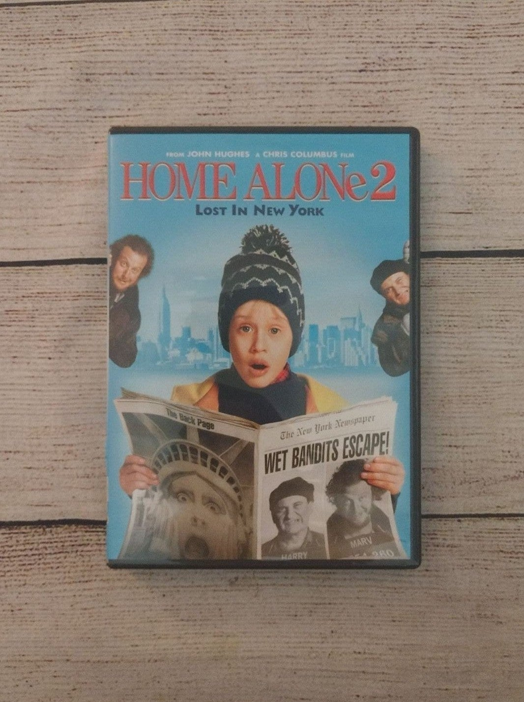 "Home Alone 2 ""Lost in New York"" DVD"