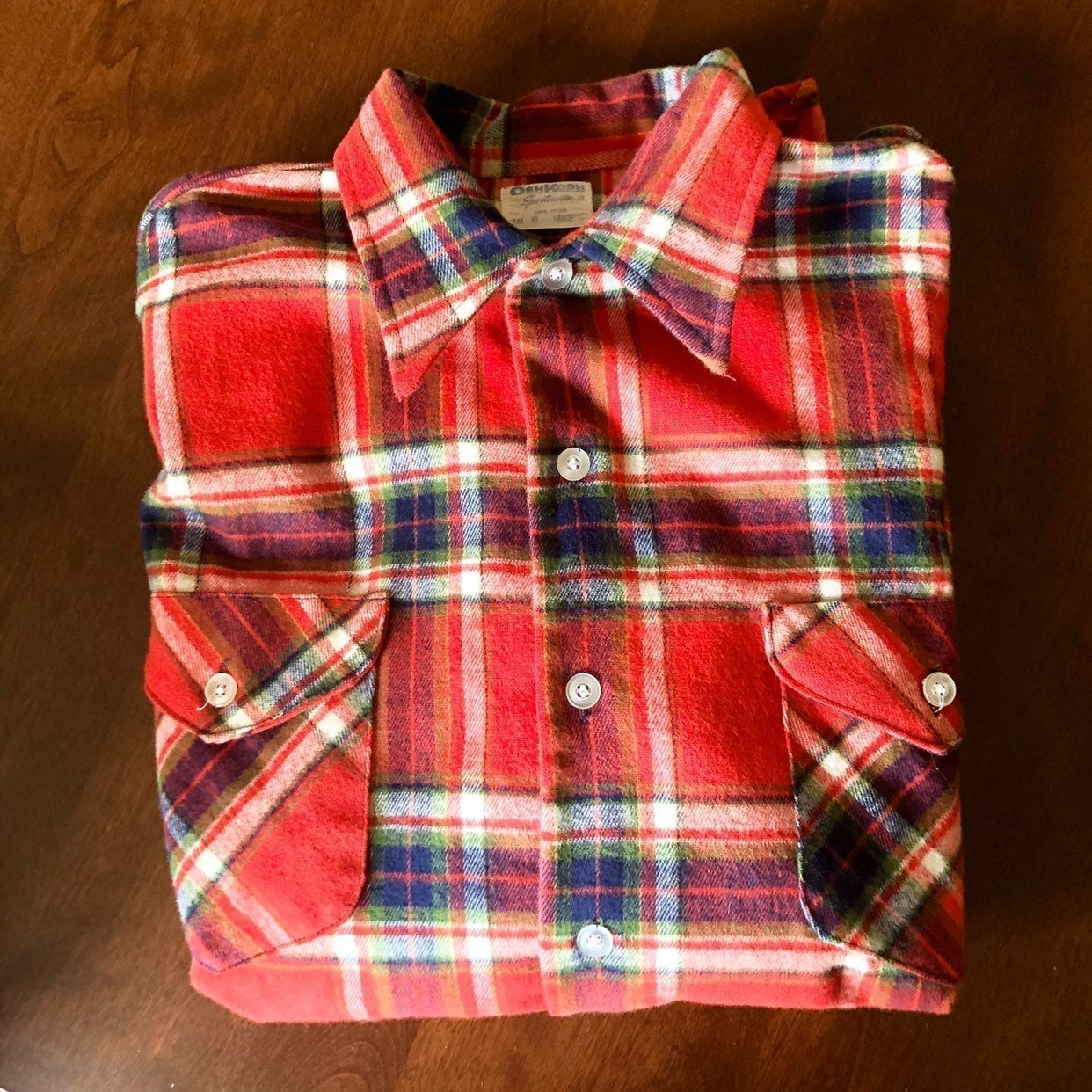 Vintage 60's Osh Kosh Shirt
