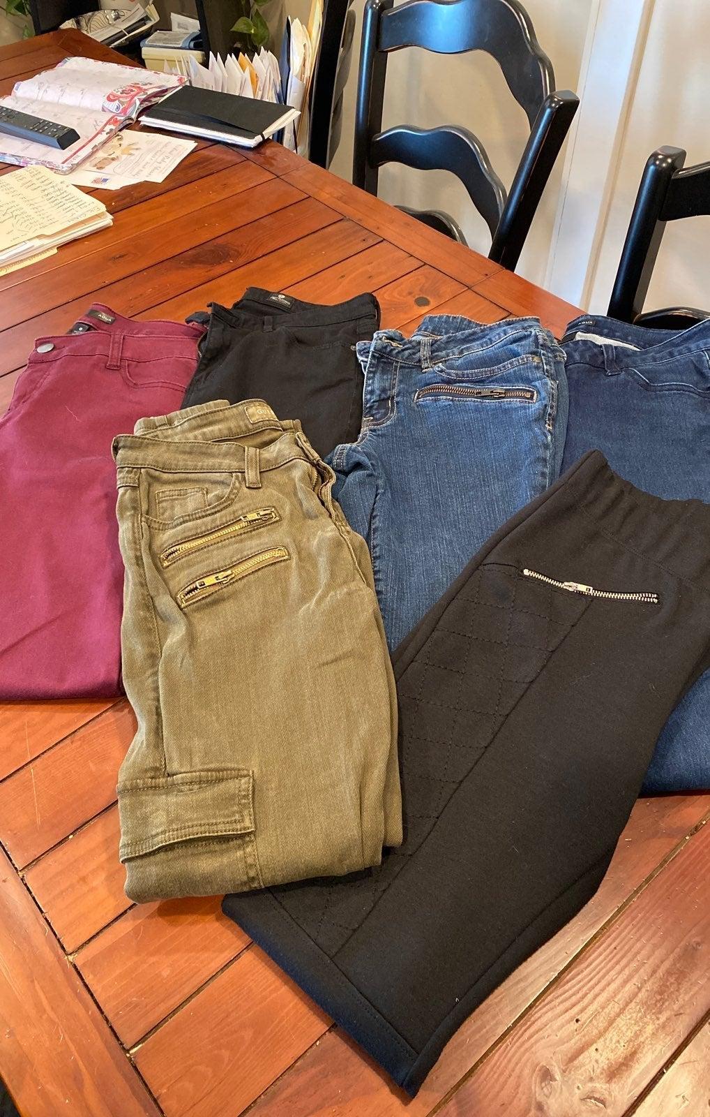 Jean Bundle W28- 6 pairs