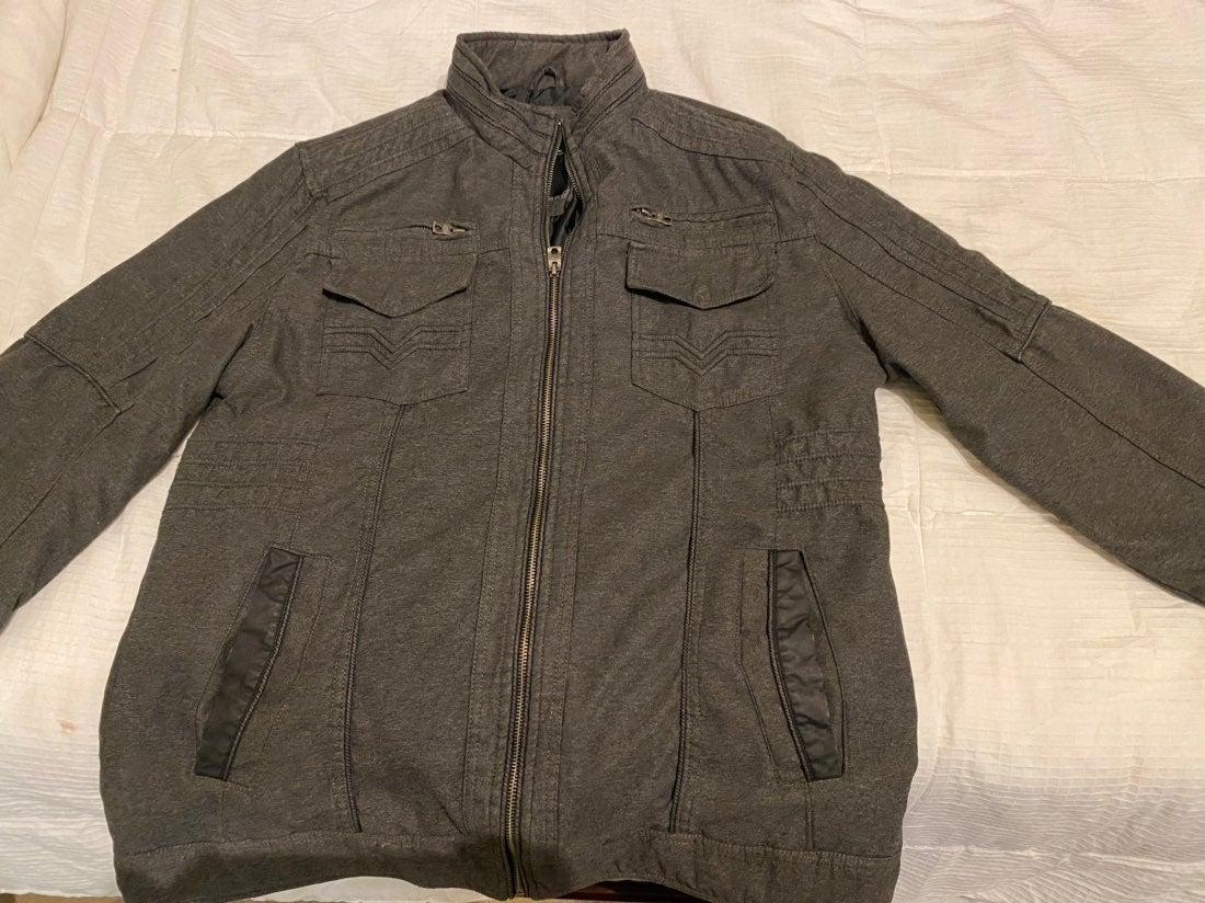 Gray Buckle Jacket