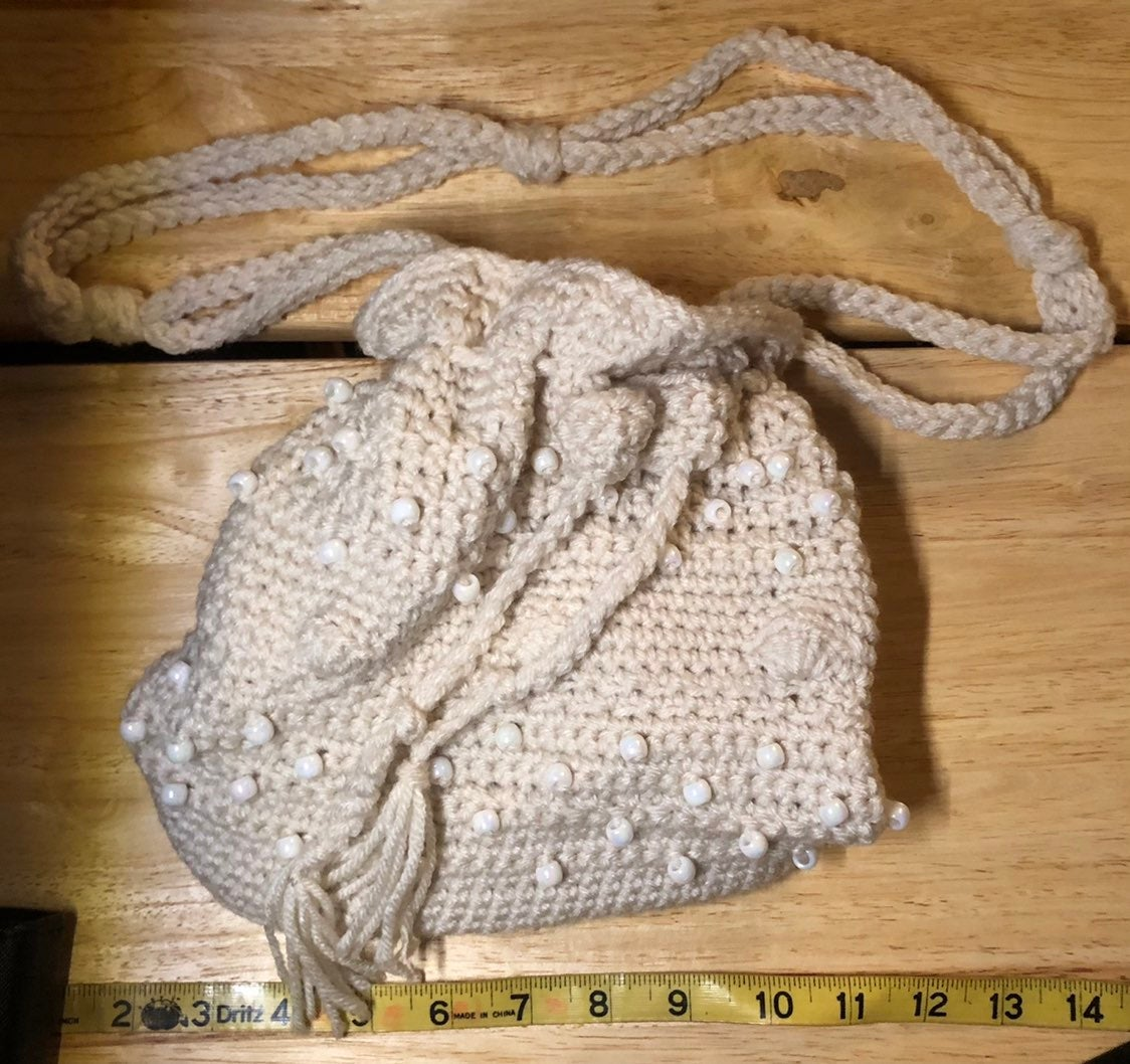 Crocheted Pouch Bag