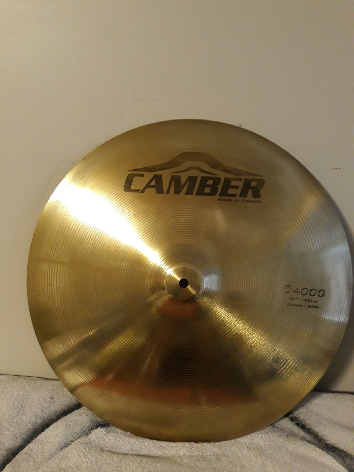 18 inch crash cymbal
