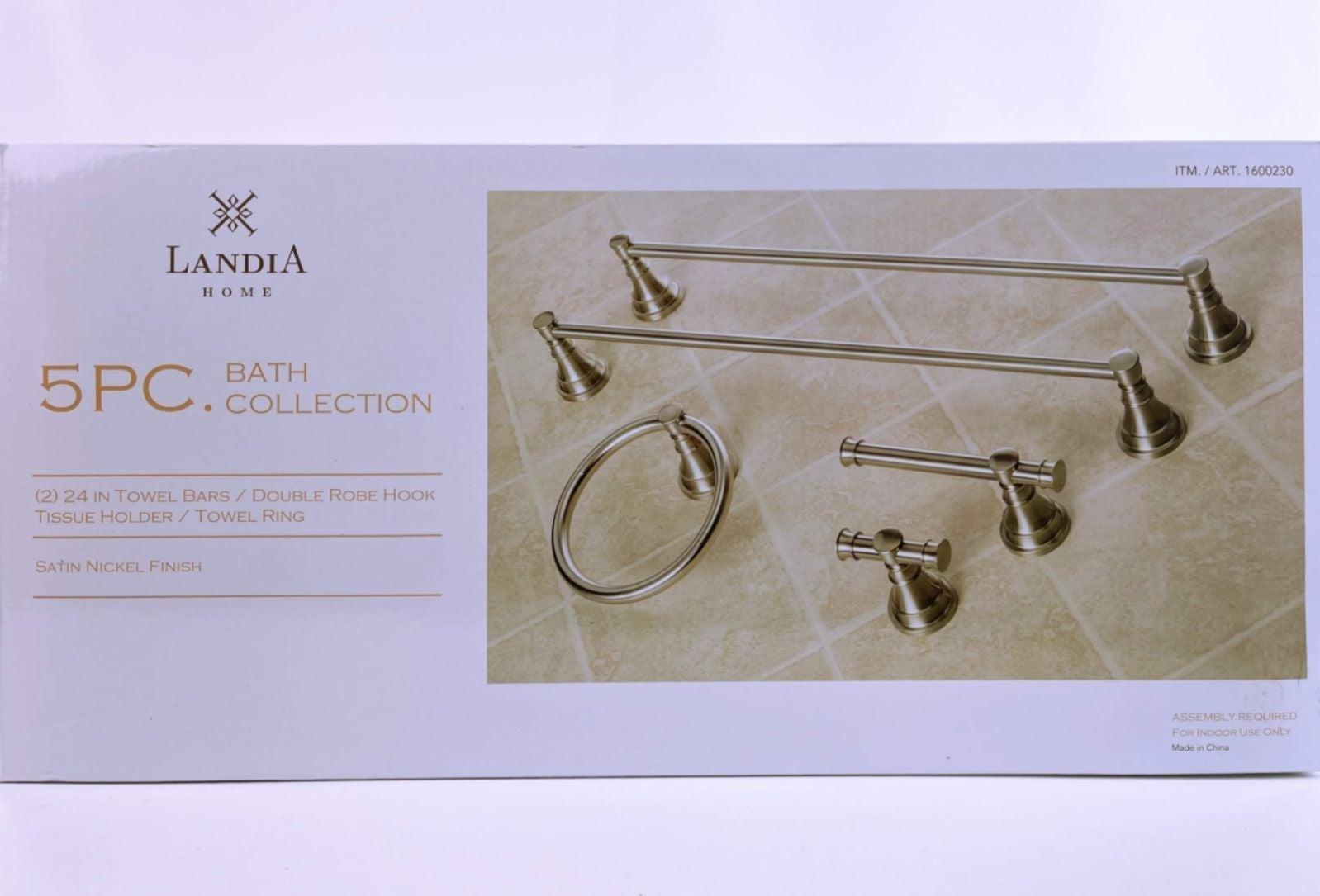 Landia Home 5-Piece Bath Collection