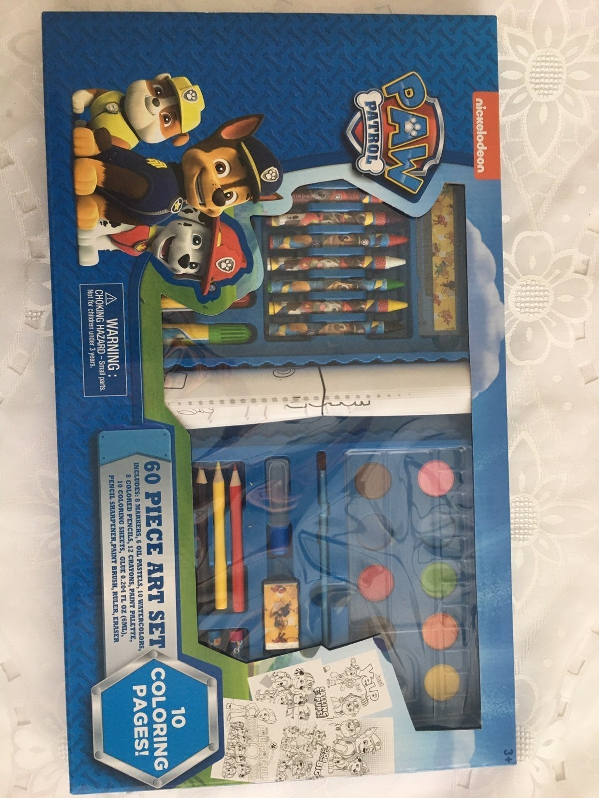 Paw Patrol 60 pc Art Set