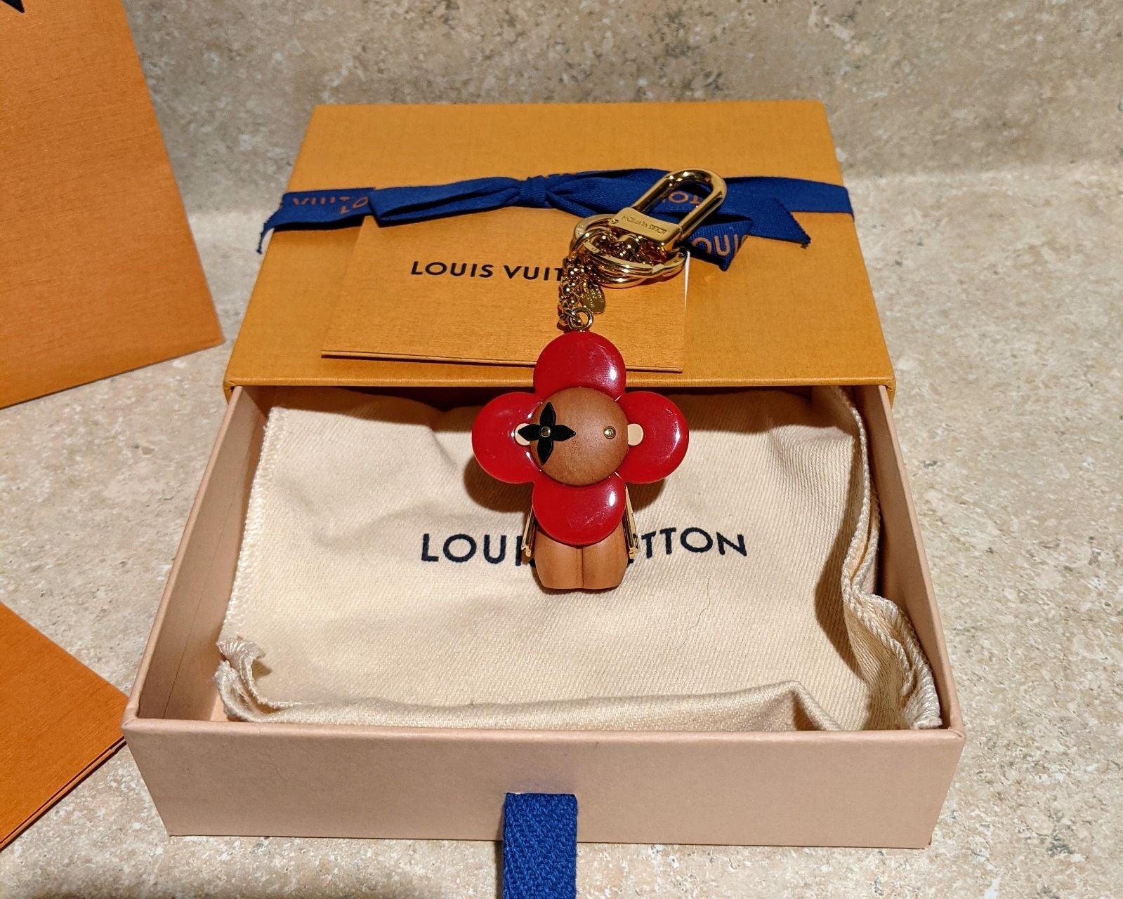 Louis vuitton Porte cles Vivienne Rouge