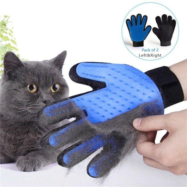 Pet Grooming Gloves 1 Pair