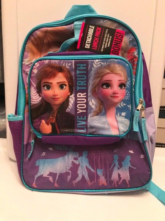 Disney Frozen II Elsa & Ana Backpack