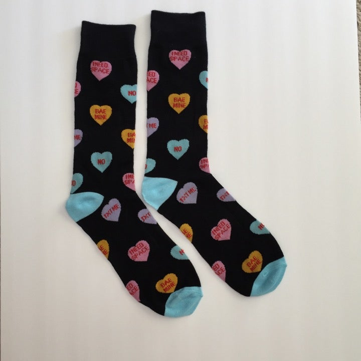 Marc Ecko Valentines Day Hearts Socks
