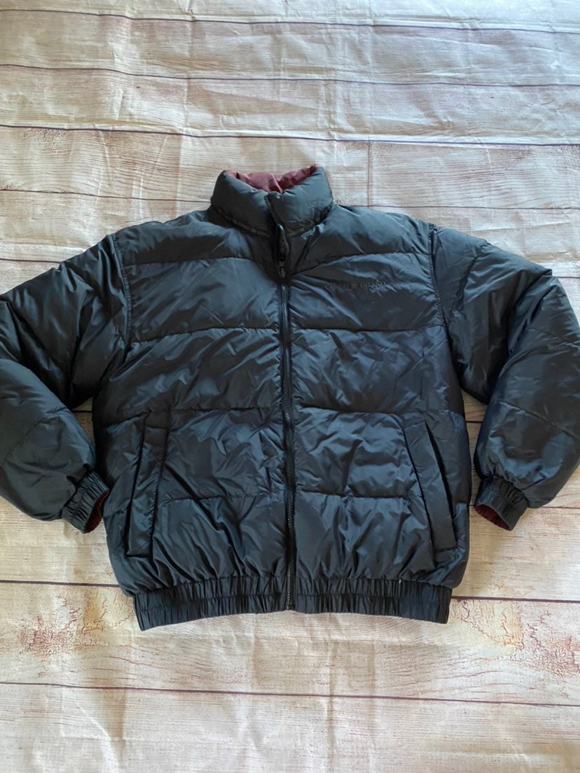 Cinch reversible puffer small