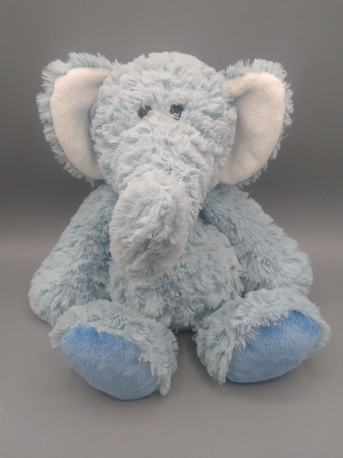 Demdaco Nat & Jules Blue Elephant Plush