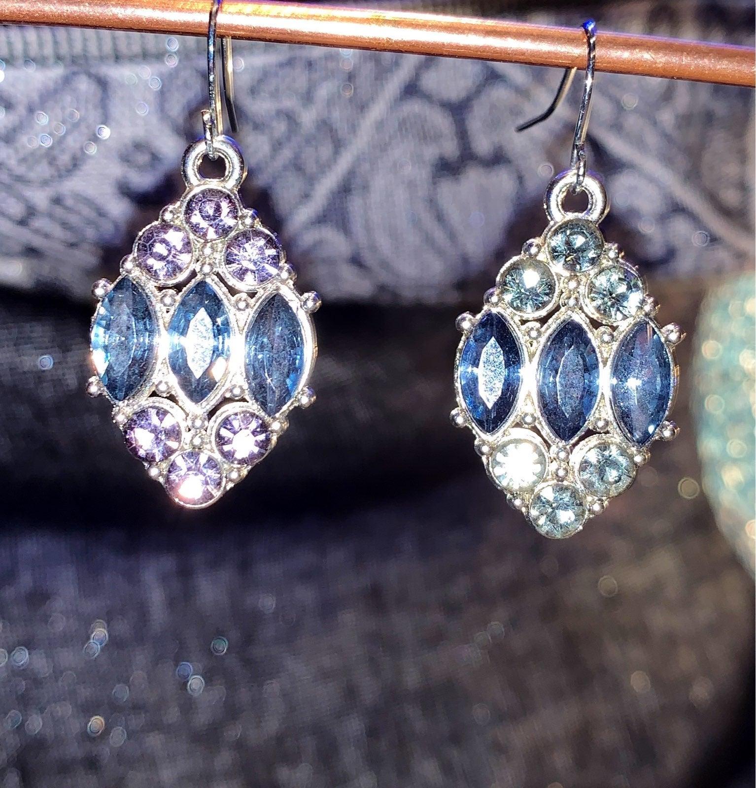 New Ann Taylor LOFT blue earrings
