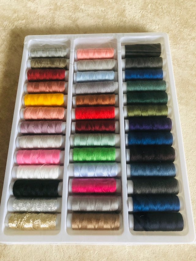 39 new sewing threads