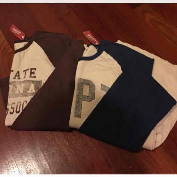 2 long sleeves shirt (men)