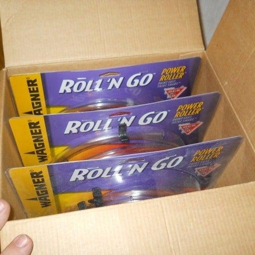 Wagner Roll 'n Go Power Roller 3-Pk
