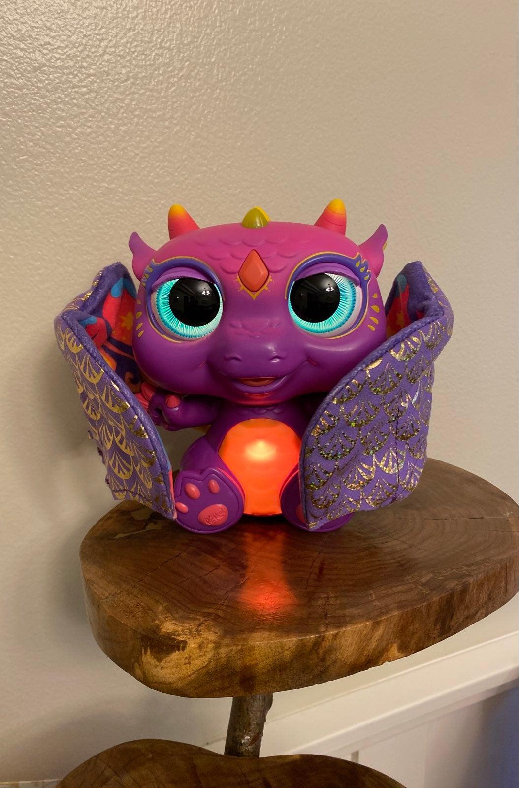 furreal friends moonwings baby dragon